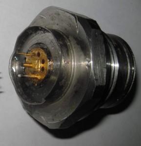 Цельнометаллическая часть датчика