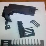 Пластиковые решетки отломаны