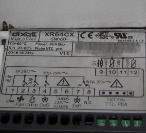 Благодаря наклейке можно разобраться какого типа датчик подходит для контроллера